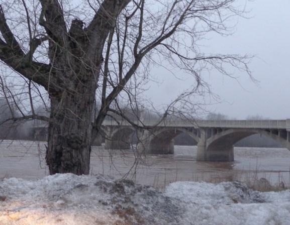 The Susquehanna River at Watsontown.