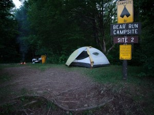 """There are a number of small campsites along the Flambeau, available only to those that arrive by water. The sites have picnic tables, fire pits and pit toilets, so there are some amenities, but they're separated from each other by a half-mile or more, meaning your only neighbors are the critters and creatures in the surrounding woods."""