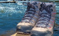 """Tuckasegee River"" boots"
