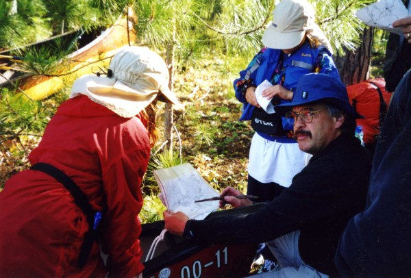 Planning ahead by checking water trail maps is a good approach for any canoe trip