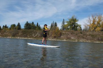 First River Run on the Bow River in Calgary, Alberta