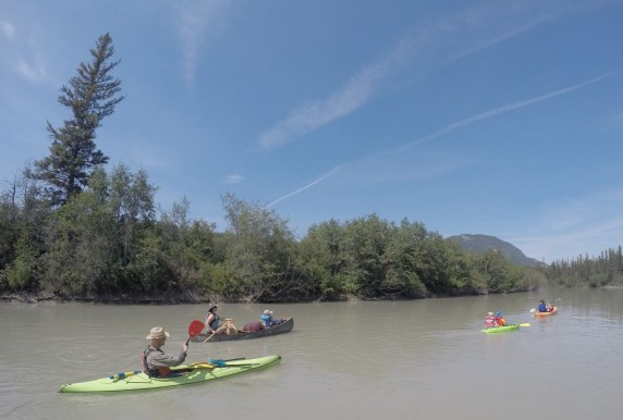 Family-friendly paddling on the Columbia River