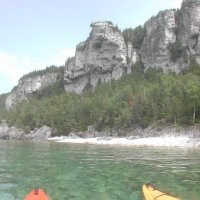 Paddling In Lion's Head Along Ontario's Bruce Peninsula