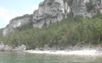view of ridge near Lion's Head on Bruce Peninsula
