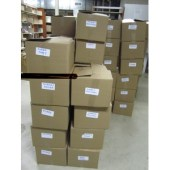 boxes in basement