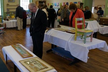 Bay Ruff artwork display at Westfield Meeting 1