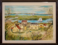 Bay Ruff large water color 1961
