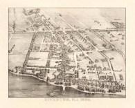 1890 Riverton map