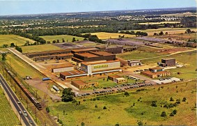 Aerial View of Hoeganaes Sponge Iron Corp. 1963