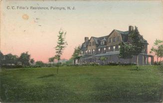 C.C. Fitler's Residence, Palmyra, N.J. c.1916
