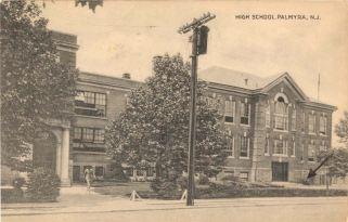 High School, Palmyra, N.J. c.1946