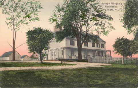 Joseph Morgan's Residence, Palmyra, N.J.