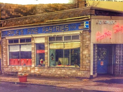 Klipple's Bakery, Broad and Main, by Bob Foster, no date
