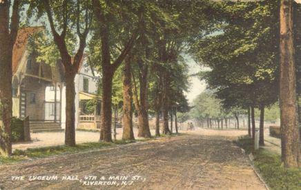 Lyceum Hall, 4th & Main St., Riverton, NJ