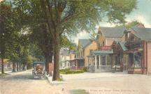 Main St. & Stiles' Store, Riverton, NJ, 1911