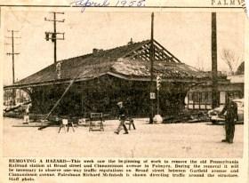 Palmyra RR Station 1955