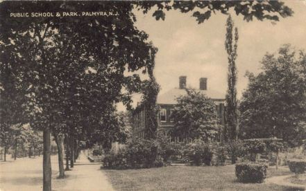 Public School and Park, Palmyra, N.J.