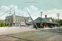 RR Station, Palmyra, NJ 1913