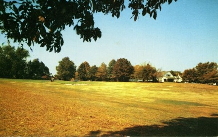 Riverton Country Club chrome postcard