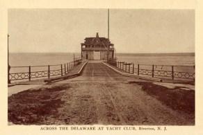 Across the Delaware at Yacht Club, Riverton, NJ