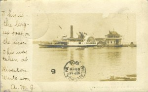 Riverton Yacht Club & Columbia 1905