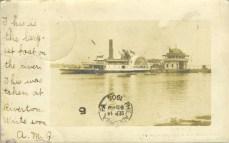 Riverton Yacht Club & Columbia 1905