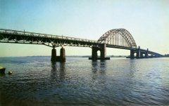 Tacony-Palmyra Bridge chrome postcard