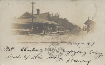 Palmyra PRR Station 1905 eBay miss