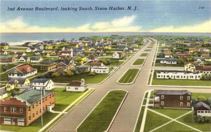 2nd Avenue Blvd., looking South, Stone Harbor, NJ