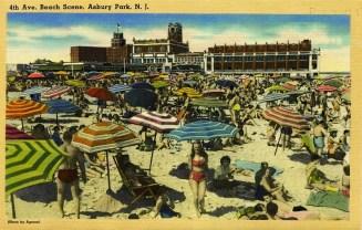 4th Avenue Beach Scene, Asbury Park, NJ