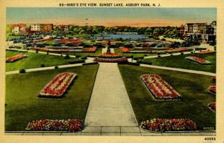 Bird's-Eye View, Sunset Lake, Asbury Park, NJ
