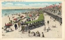 9th Avenue Beach, Ocean City, NJ 1929