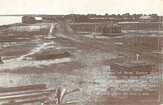 A glimpse of Stone Harbor from Sunset Drive, c1912