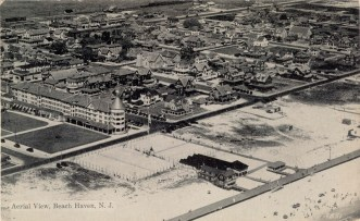 Aerial View of Beach Haven, NJ