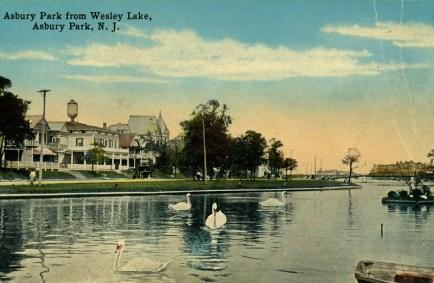 Asbury Park from Wesley Lake, Asbury Park, NJ