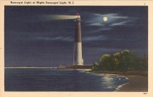 Barnegat Light at Night,Barnegat Light, NJ