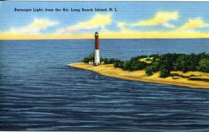Barnegat Light, from the Air, Long Beach Island, NJ