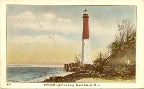 Barnegat Light on Long Beach Island, NJ