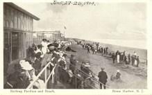 Bathing Pavillion and Beach 1914, Stone Harbor, NJ