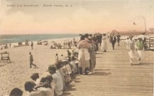 Beach and Boardwalk, Beach Haven, NJ