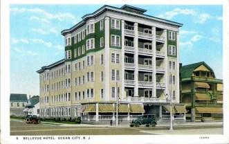 Bellevue Hotel, Ocean City, NJ 1940