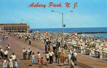 Boardwalk and Beach, Asbury Park, NJ