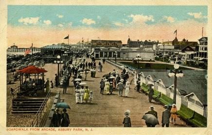 Boardwalk from Arcade, Asbury Park, NJ