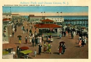 Boardwalk from the Casino, Asbury Park, NJ
