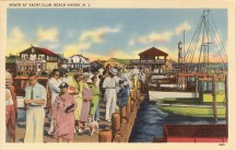 Boats at Yacht Club, Beach Haven, NJ