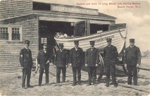 Captain and Crew of Long Beach Life Saving Station, Beach Haven, NJ