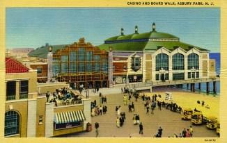 Casino and Boardwalk, Asbury Park, NJ