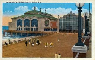 Casino and Entrance, Asbury Park, NJ