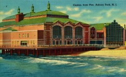 Casino from Pier, Asbury Park, NJ
