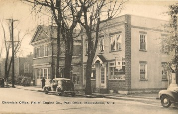Chronicle Office, Relief Engine Co., Post Office, Moorestown, NJ